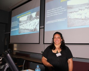 Melissa Matutina Williams gave a keynote address on the intersections between Māori and Pākehā women's histories
