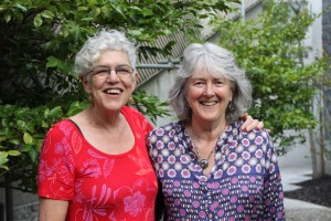 Sally Swartz and Barbara Brookes