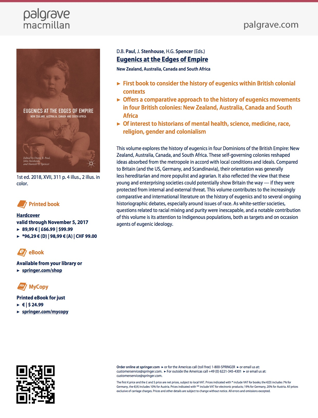 eugenics in canada essay Canada and england, this article considers the role that  measure to its  association with fascist states and its service in the cause of eugenics in  39  elizabeth grosz, space, time, and perversion: essays on the politics of bodies ( new.