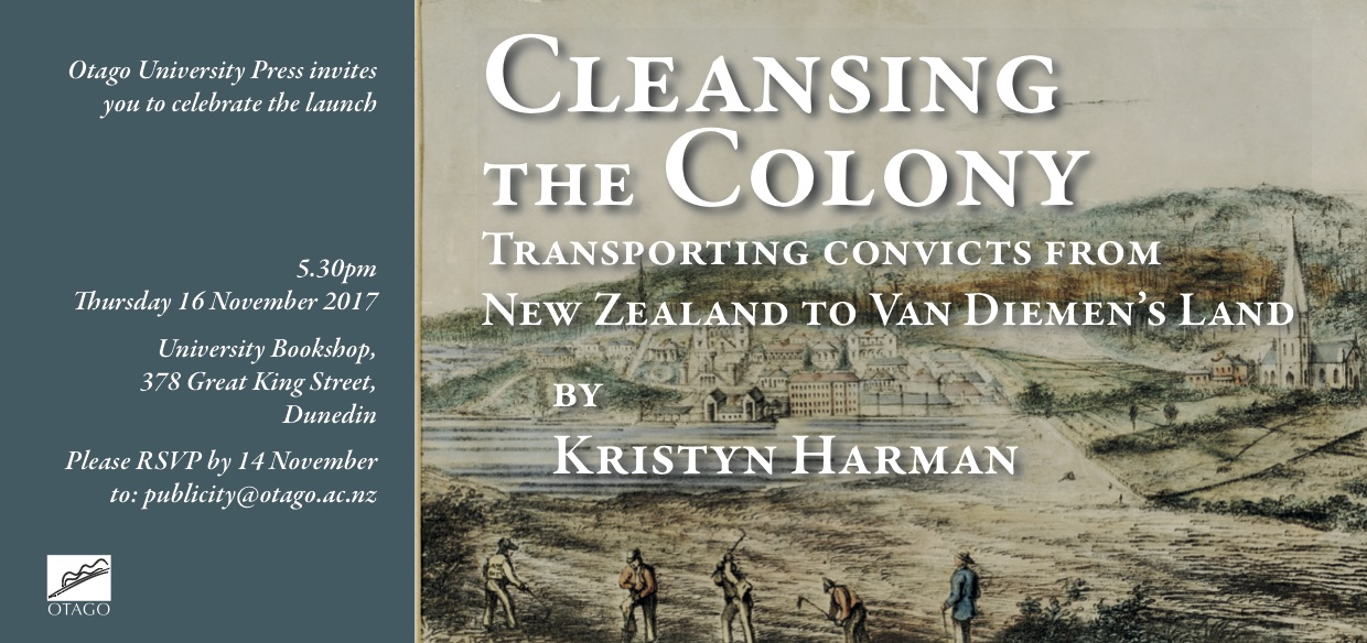 Kristyn Harman Centre For Research On Colonial Culture