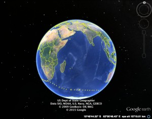 Track of the John Wickliffe II