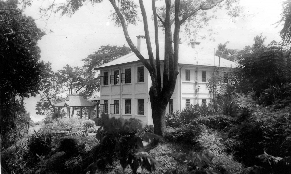 George Langmore's childhood home on a tea plantation in Darjeeling. Source: Langmore family archive