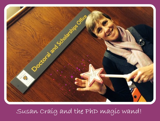 Susan and the wand