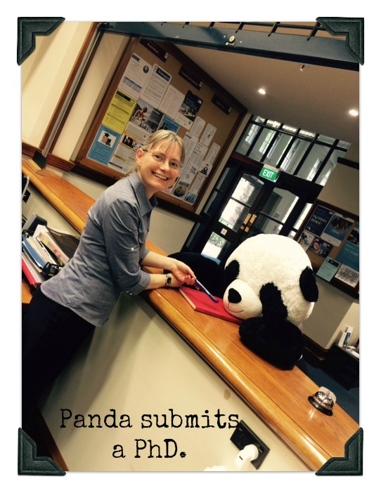 Panda Submits PhD