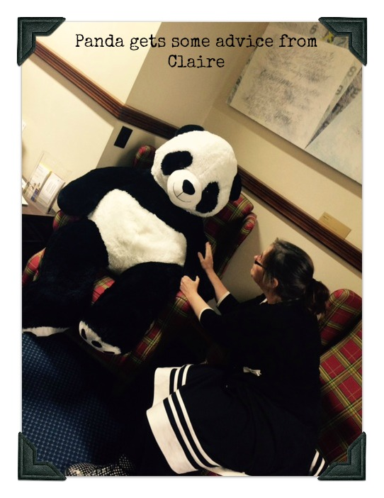 Panda and Claire