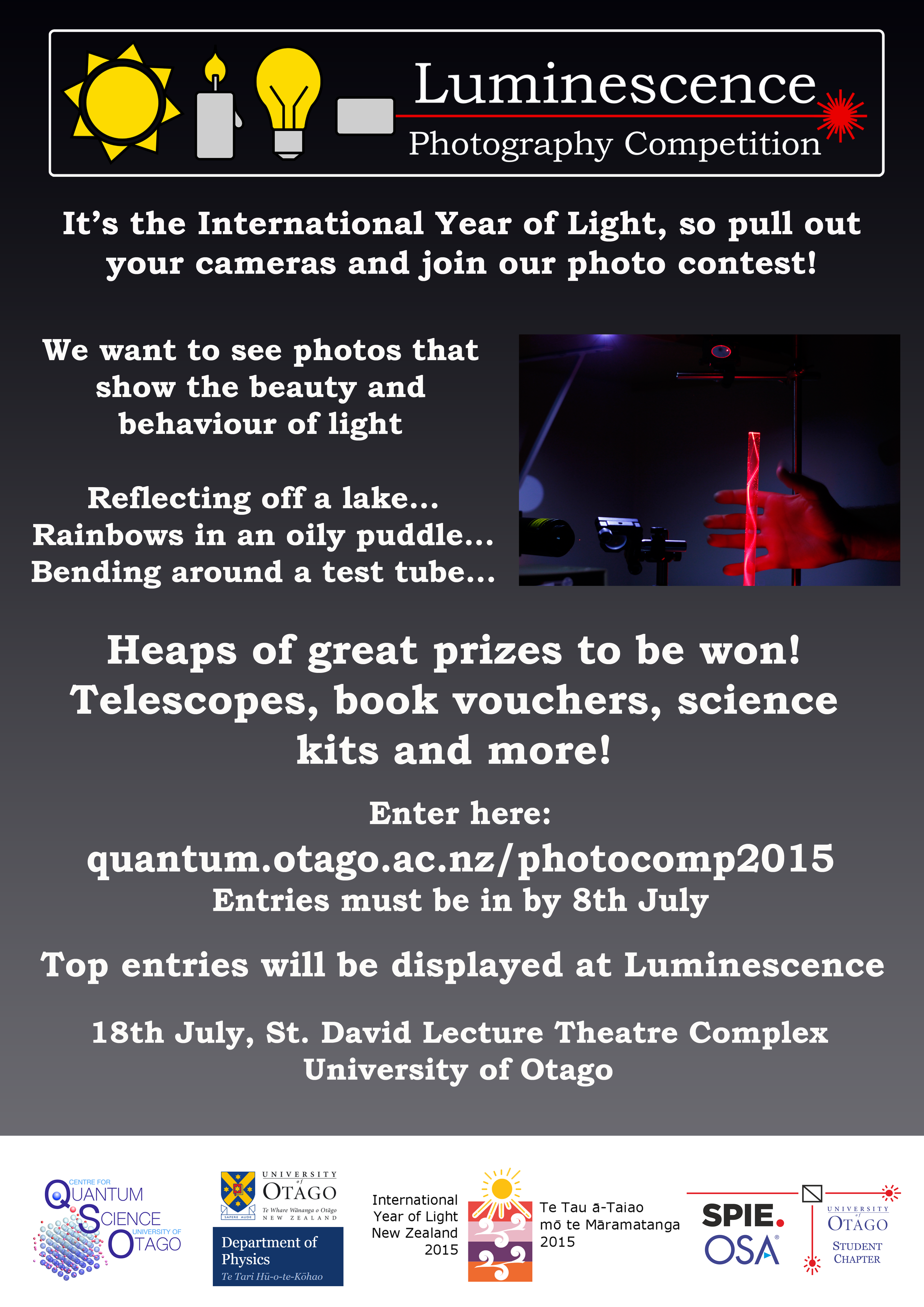 photo comp poster - X