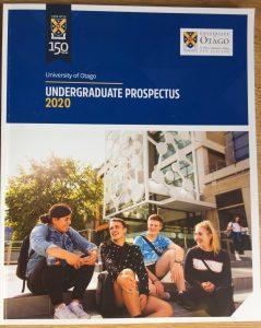 Image of front cover of 2020 Undergraduate prospectus