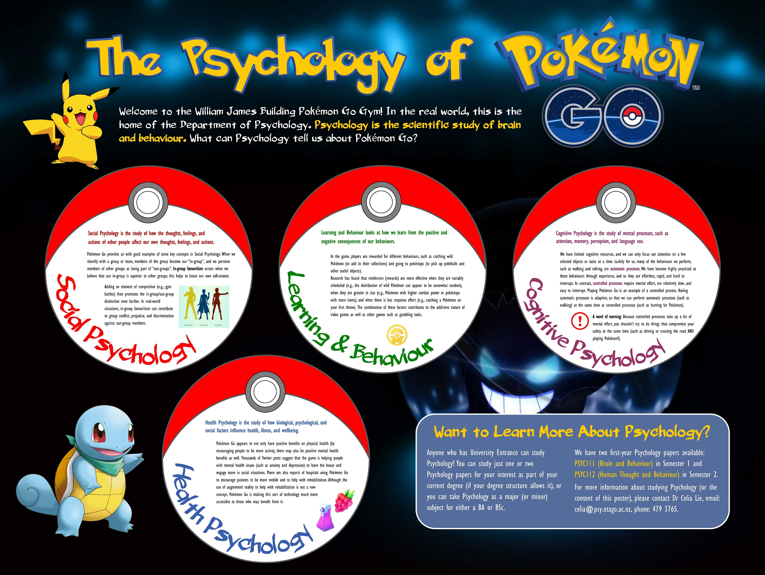 research on pokemon papers We found a number of interesting drivers and barriers to pokémon go playing  the pokémon go research paper has been accepted for.