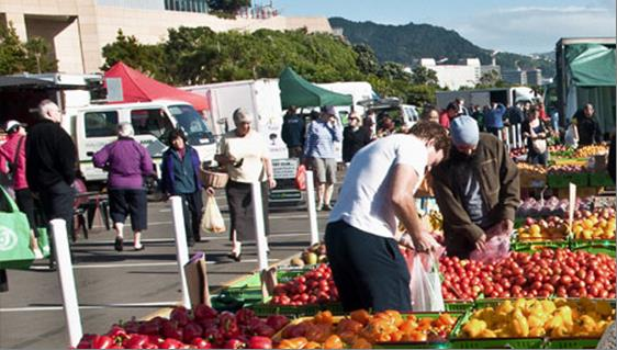 Fruit and vege market 1