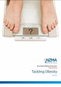 "The NZMA in its recent ""Tackling Obesity"" report calls for consideration of a SSB tax, and in 2011 called for action on health inequites."