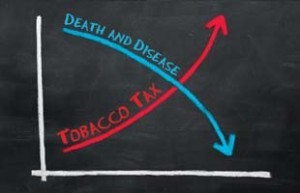 death and disease, tobacco tax