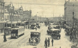 Lower Queen Street, Auckland, about 1919