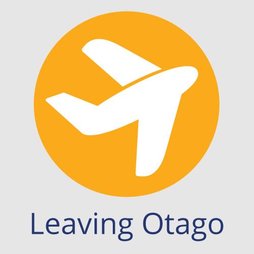Leaving Otago