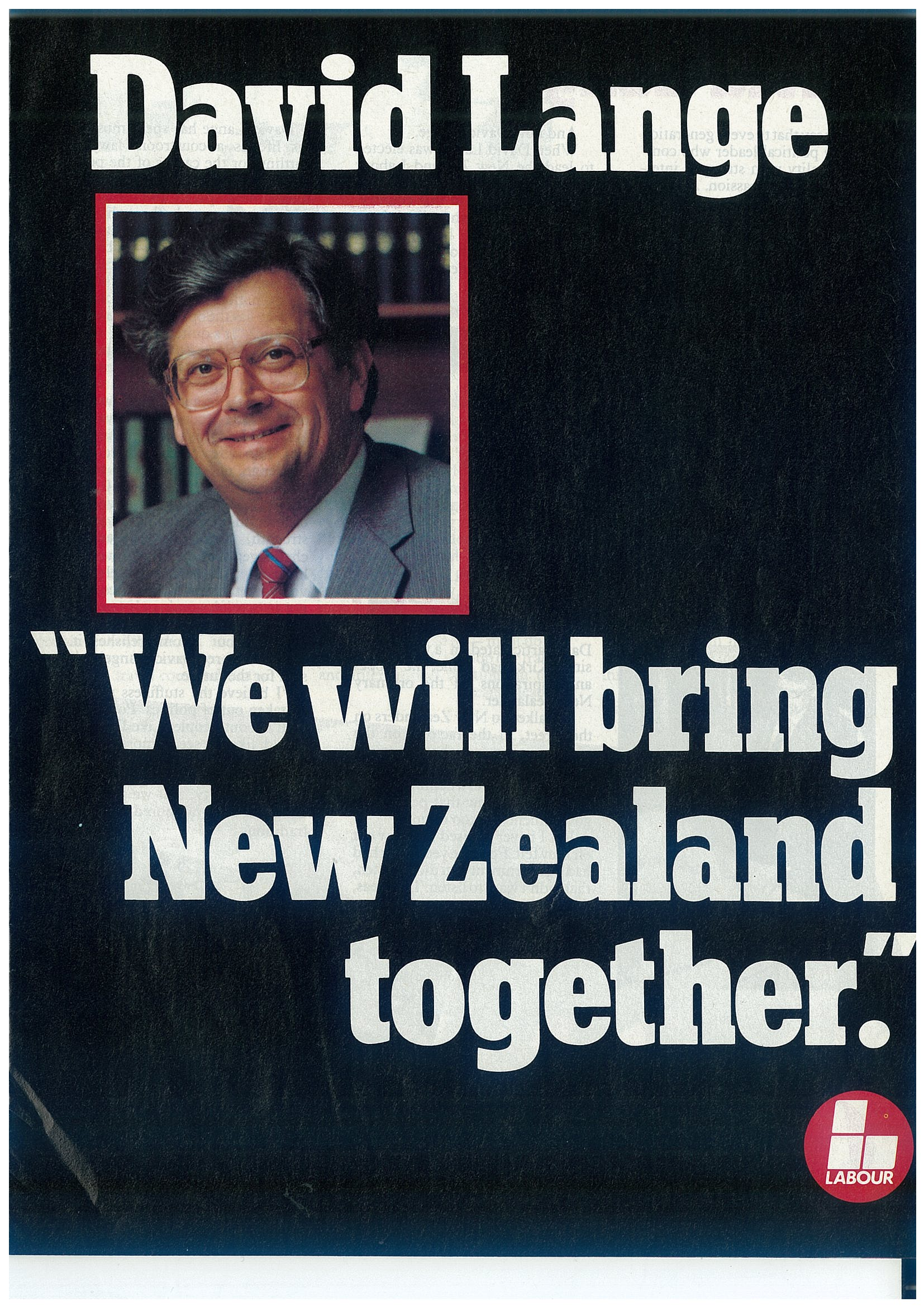 Election ephemera The Hocken Blog University of Otago New Zealand – Election Brochure