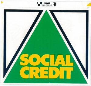 Social Credit Party sticker 1984 cropped
