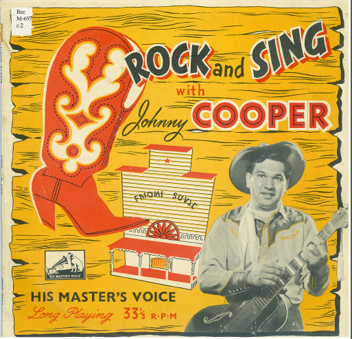 Johnny Cooper Rock and Sing
