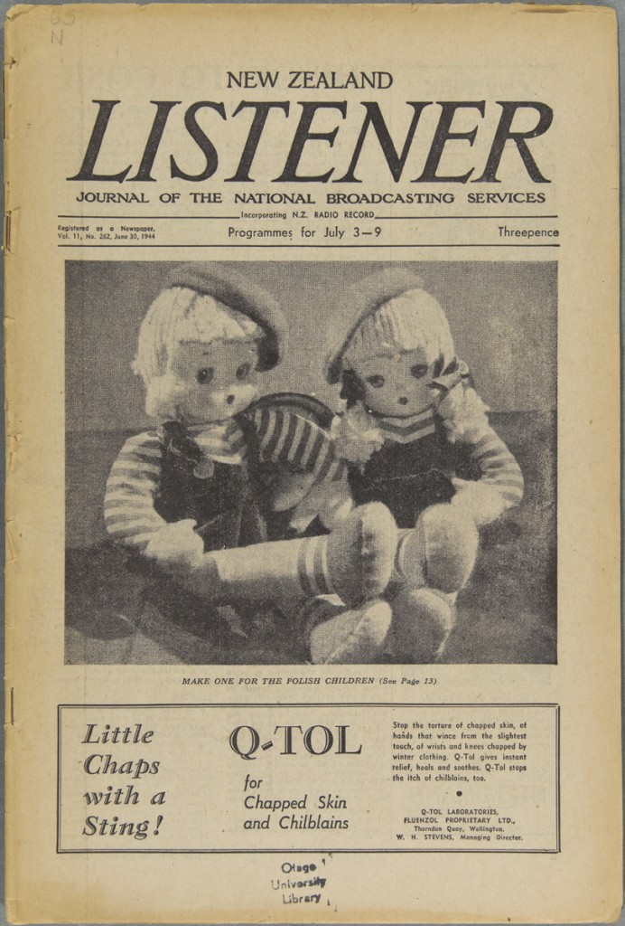 IMAGE 1 S14-444j Toymaking for the Polish children. Listener v.11no.262  (1944June30)