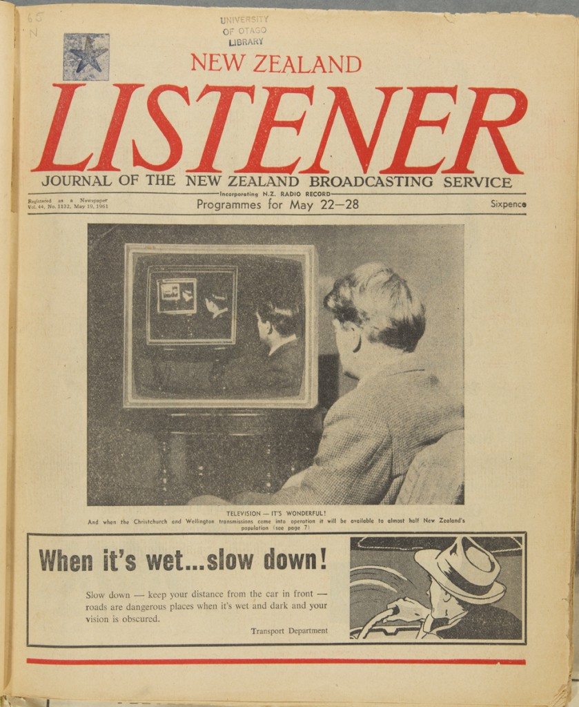 IMAGE 3 S14-444i Television it's wonderful! Listener v.44no.1132 (1961May19)