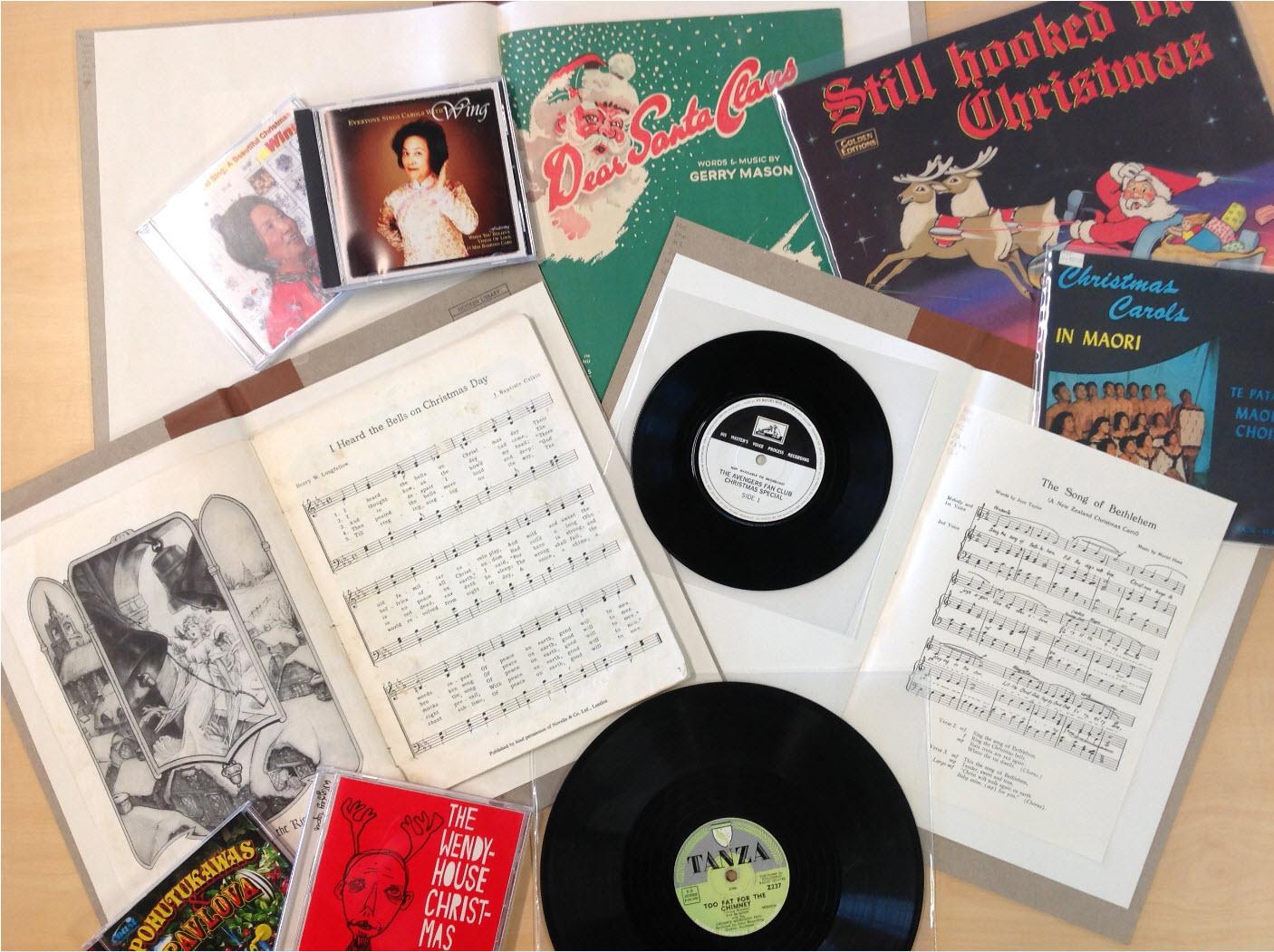 A Kiwi Christmas playlist – The Hocken Blog, University of Otago ...