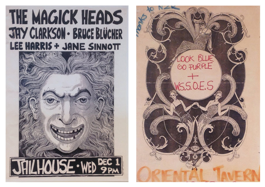 Dunedin Sound posters