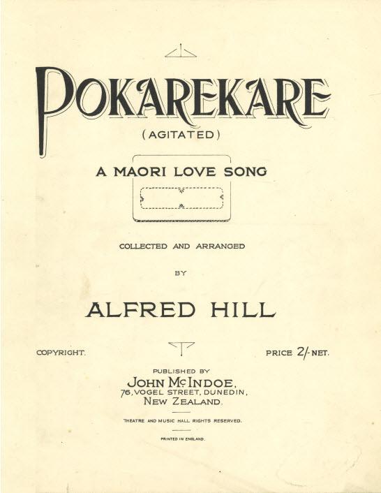 Between the Sheets: Gems from the Hocken sheet music
