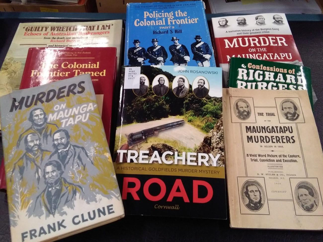 Murder on the Maungatapu – The Hocken Blog, University of