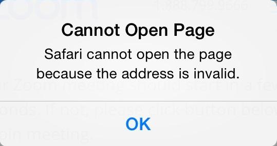 pdf will not open on ipad